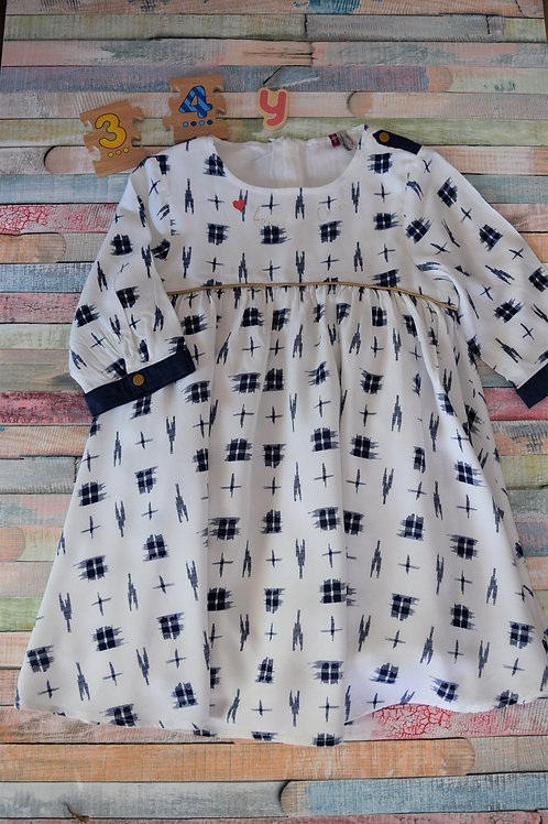 Blue Dream Dress 3-4 Years Old