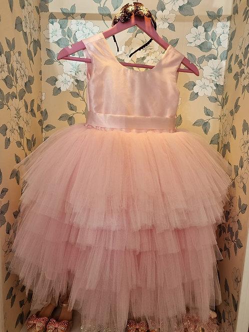 Pink Princess Caroline Dress