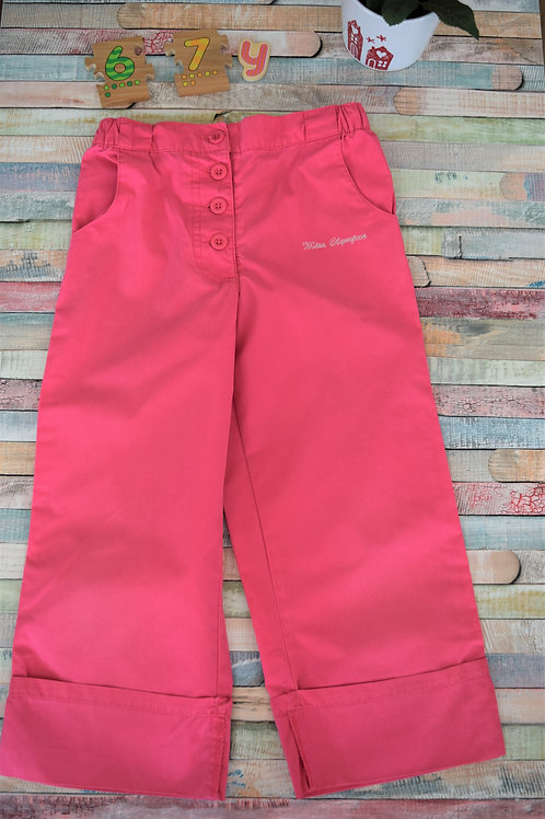 Pink Summer Trousers 6-7 Years Old