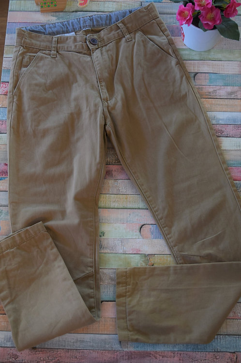 Cream Long Trousers 9-10 Years Old
