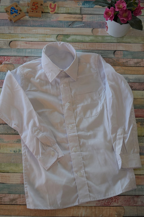 White Shirt 4-5 Years Old