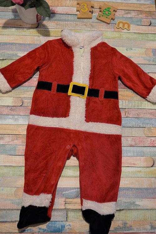 Santa Christmas Suit 3 -6 Months Old