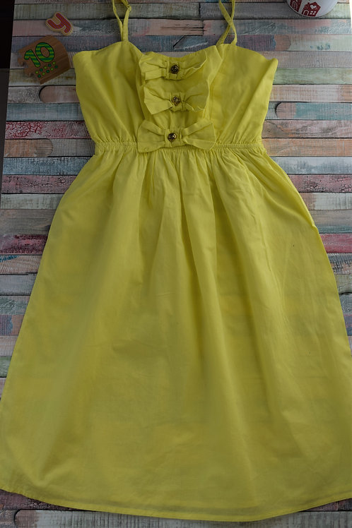 Yellow Ribbon Dress