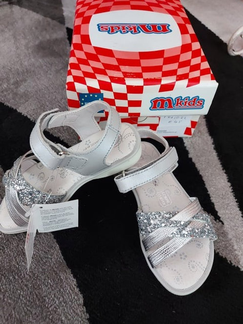 Silver Sandals Size 25 and 30