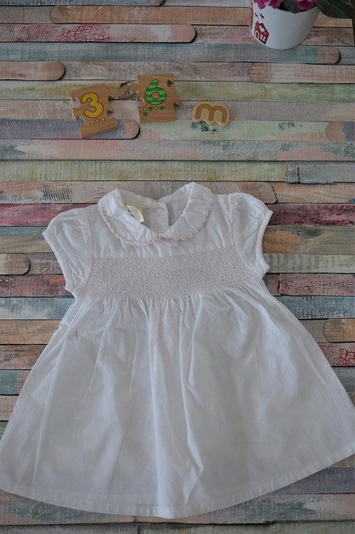 Elegant Summery White 3-6 Months