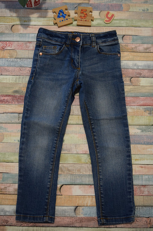 Straight Blue Jeans 4-5 Years Old
