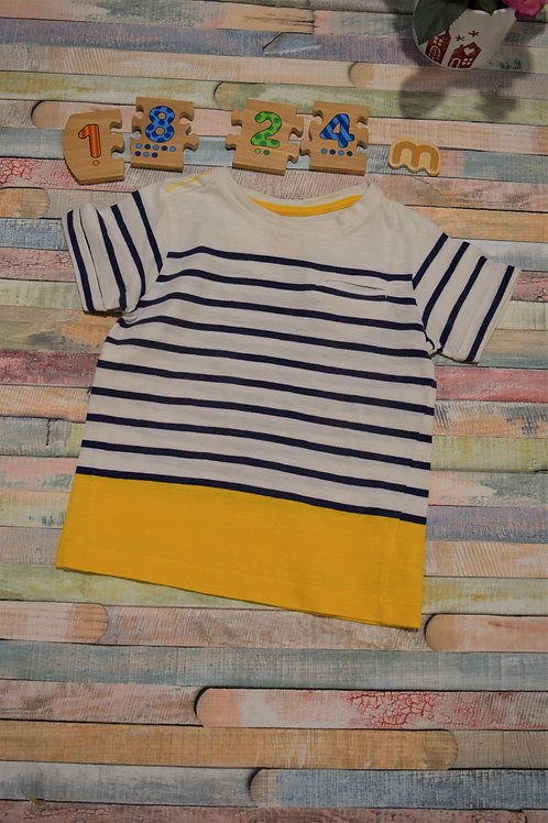 Black and Yellow Tshirt 18 -24 Months Old