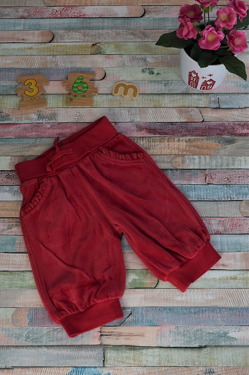 Velvet Red Trousers