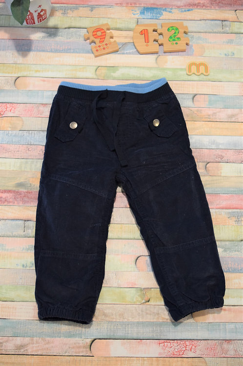 Blue Trousers 9-12 Months