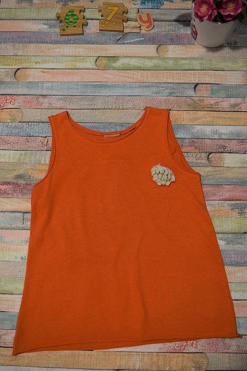 Orange Tshirt 6-7 Years Old