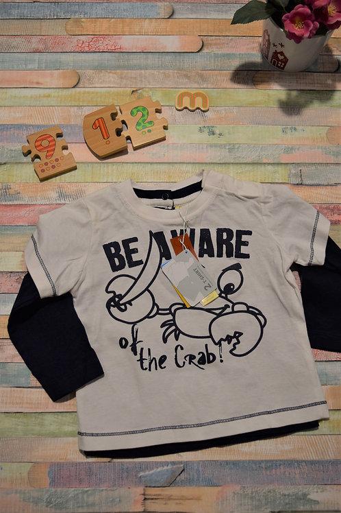 Be Aware 2 Shirs Set 9-12 Months