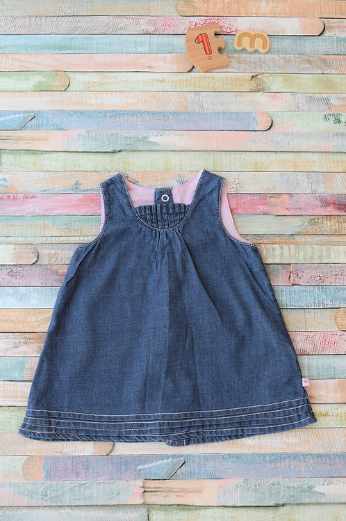 New Baby Jeans Dress 1 Month Old