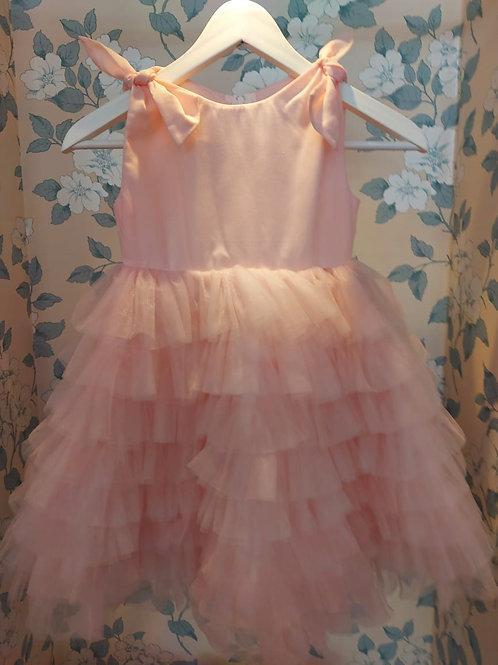 Pink Ruffle Princess Dress Mia