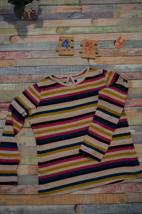 Stripy Top 4-5 Years Old