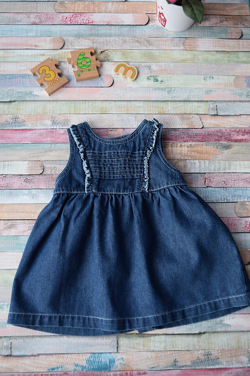 Perfect Jeans Dress 3-6 Months Old