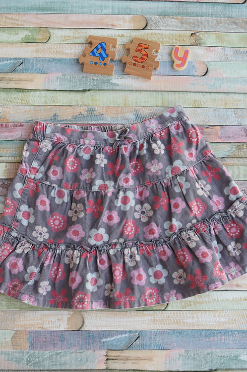Pink Flower Skirt 4-5 Years Old