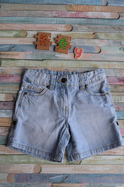 Jeans Shorts 5-6 Years Old