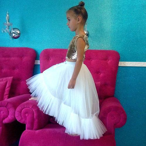 Set Skirt and Sequin Top by Evz Design Ukraine
