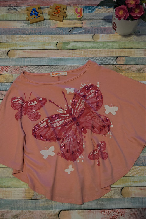 Butterfly Pink Blouse 4-5 Years Old