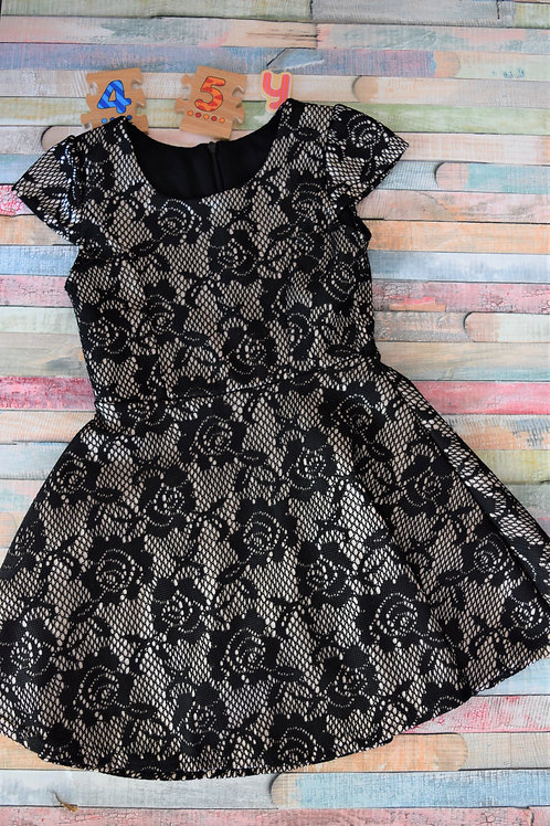 Black Lace Dress 4-5 Years Old