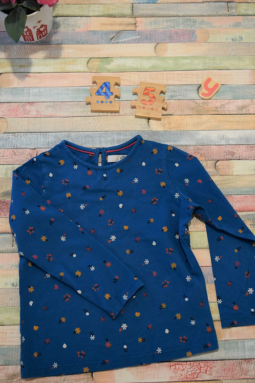 M&S Blue Top 4-5 Years Old