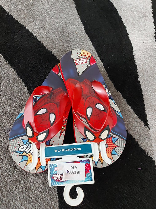 Spiderman Beach Flip Flops for Boys
