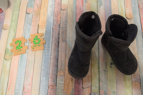 Grey Winter Boots Size 26