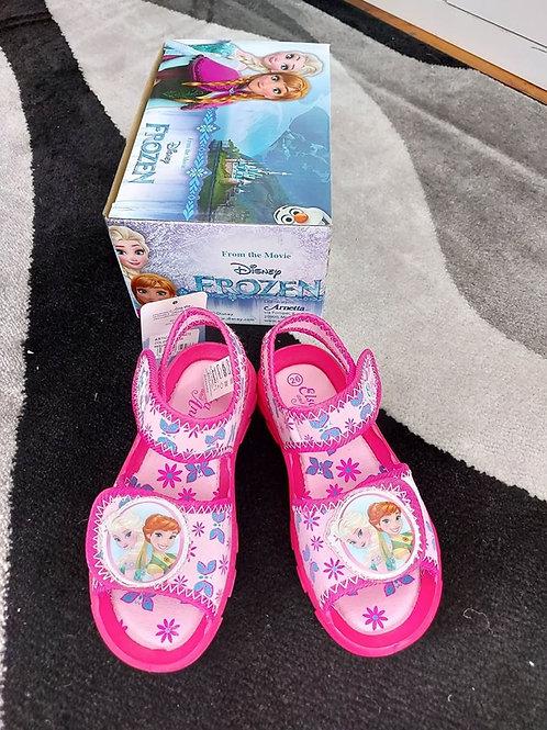 Frozen Fuxia Beach Sandals