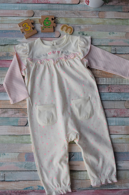 Long Sleeve Pijama 3-6 Months Old