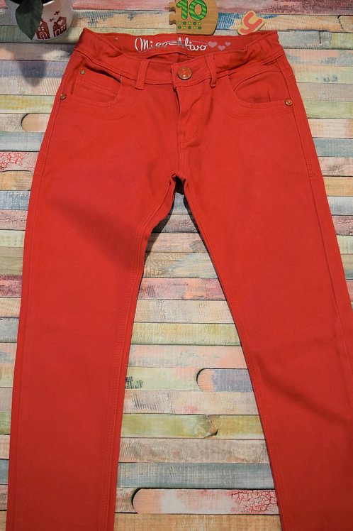 Red Trousers 10-11 Years Old