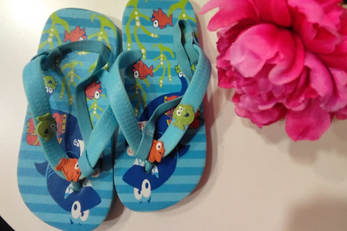 Fish Slippers Size 29