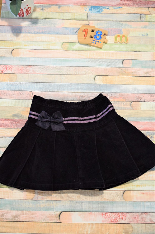 Velvet Skirt 12-18 Months