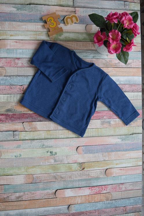 Blue Soft Cardigan