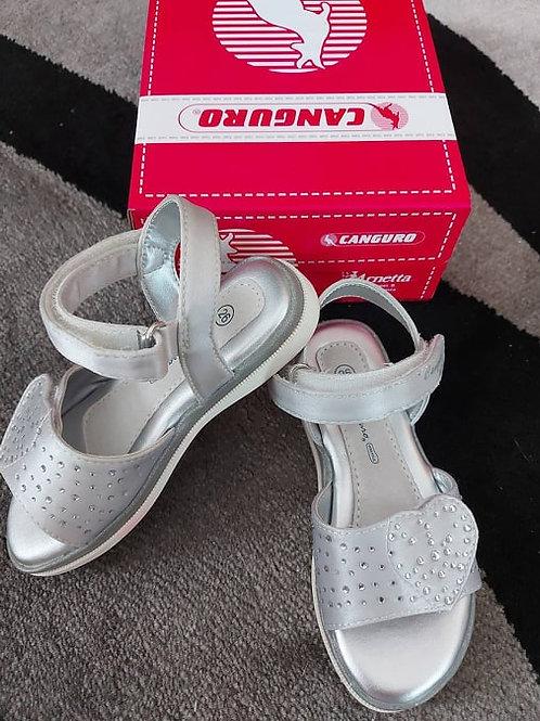 Canguro Sandals Silver