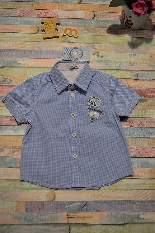 Blue Shirt Marasil 0-3 Months
