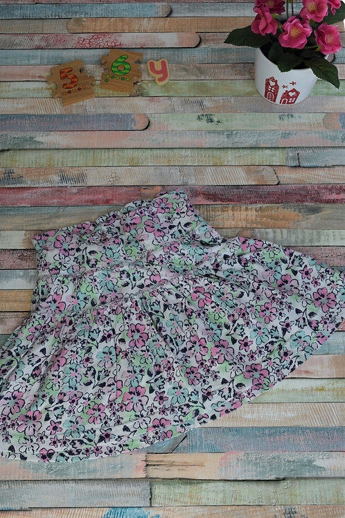 Cotton Flowers Skirt