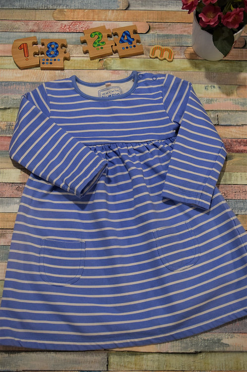 Bluezoo Winter Dress 18-24 Months Old