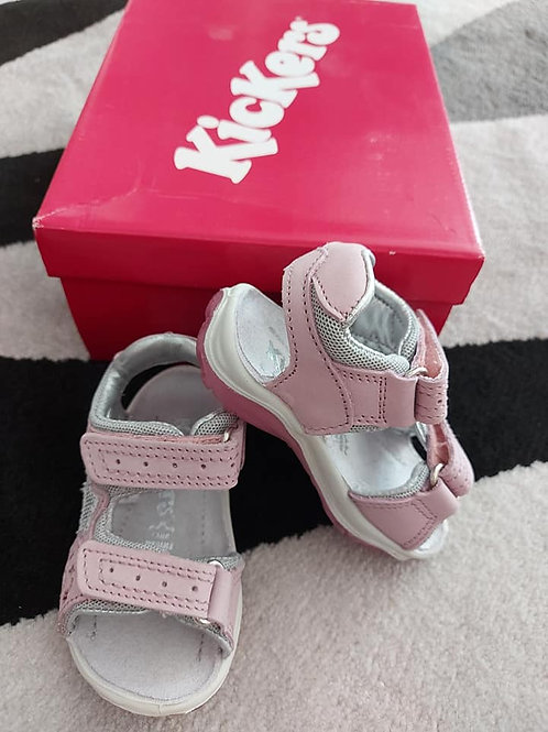 Kickers Girls Pink Sandals Size 20
