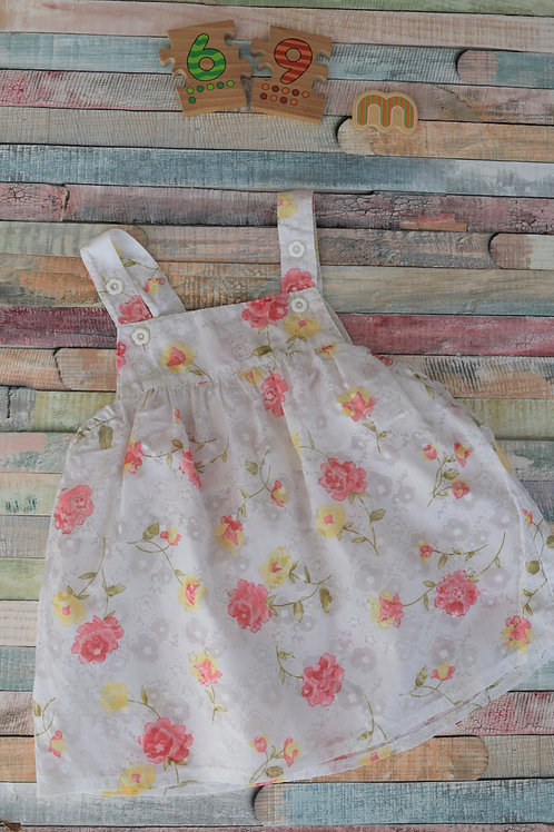 Roses Dress 6-9 Months Old