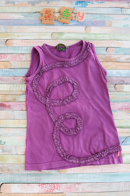 Oilily Purple Tshirt 5-6 Years Old