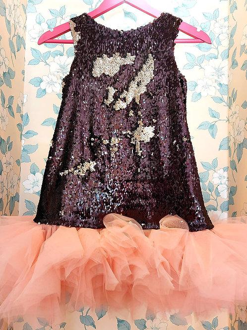 Black Sequin and Pink Fun by EVZ Design in Ukraine