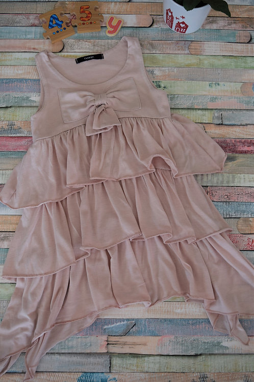 George  Summer Dress With Ribbon 4-5 Years Old
