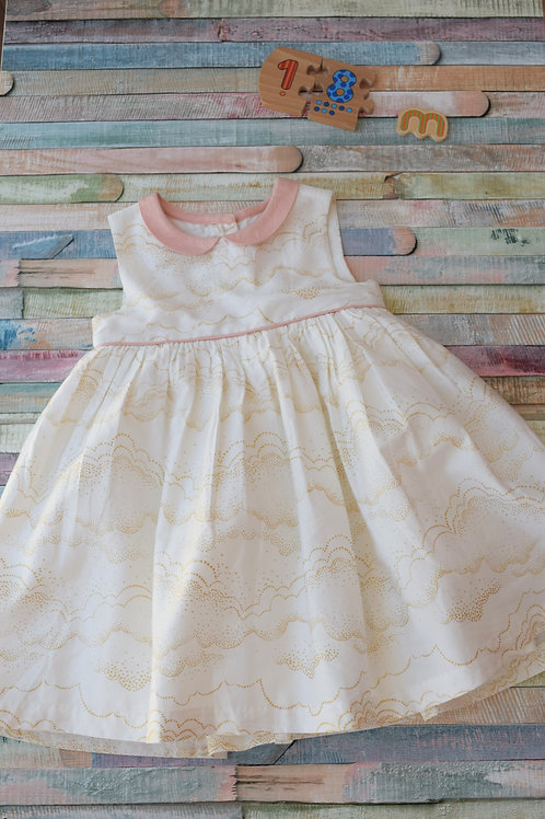 M&S Flower Dress 12-18 Months Old