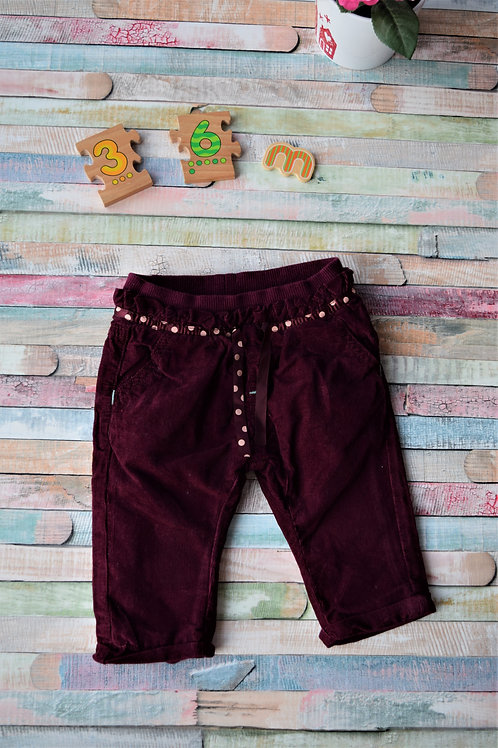 Winter Cozy Trousers 3-6 Months Old