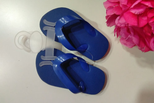 Blue Summer Slippers Size 21-22