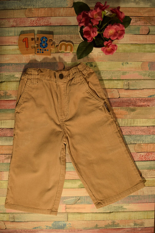 Cream Corduroy Trousers By Cherokee