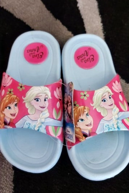 Frozen Anna and Elsa Slippers