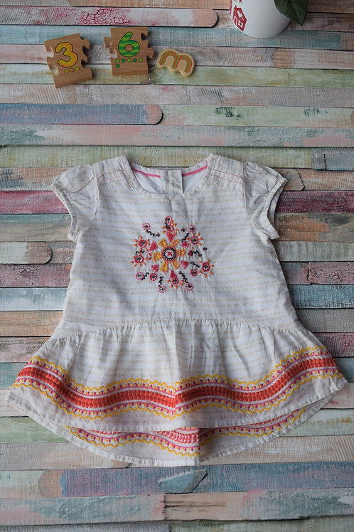 Summer Indian Top 3-6 Months Old
