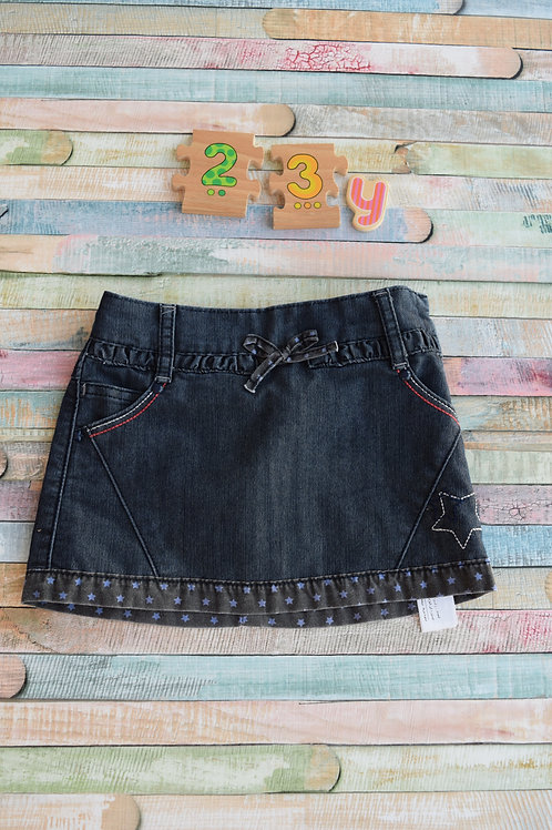 Star Jeans Skirt 2-3 Years Old