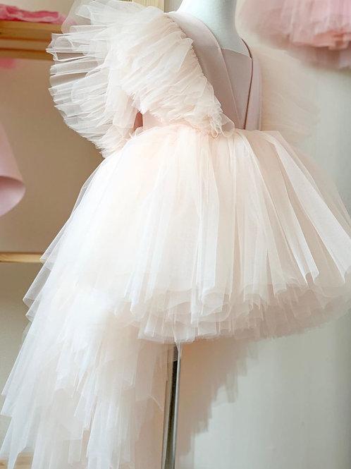 Pink Princess Dress Eleni with Long Train